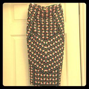 Nwt knit  skirt set